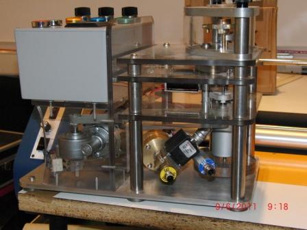 explosion testing equipment